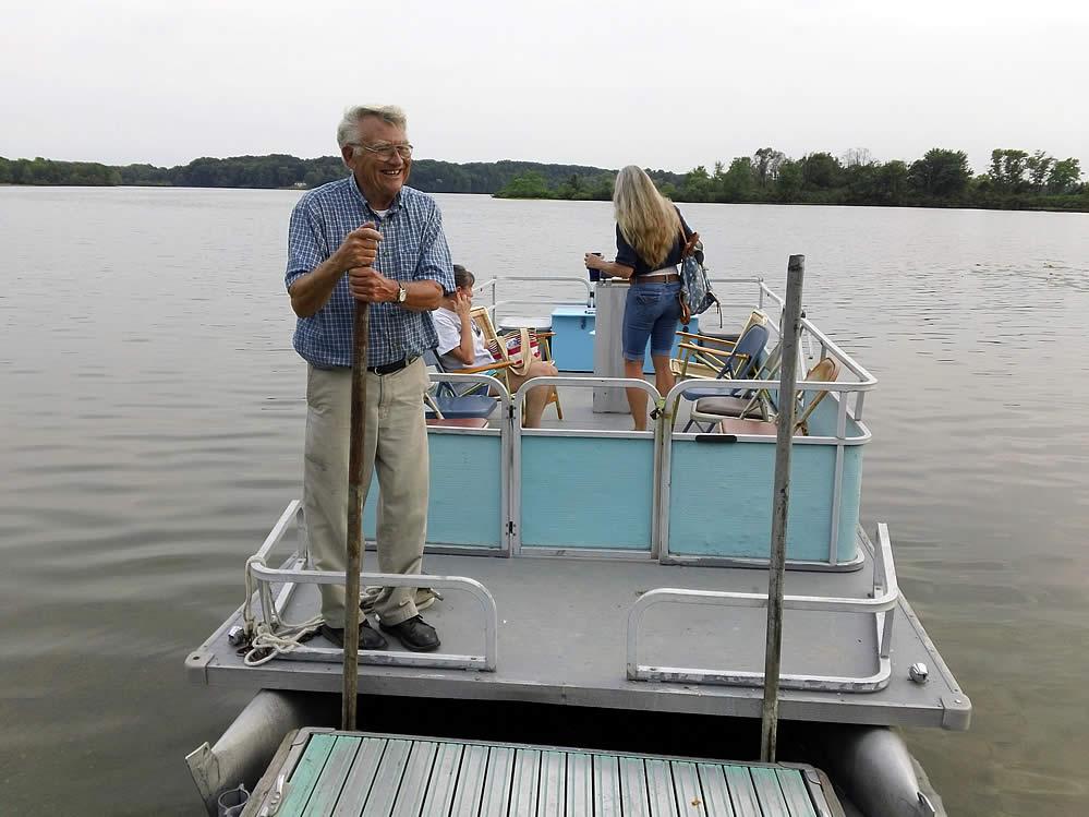 Purple Martin Twilight Boat Rides