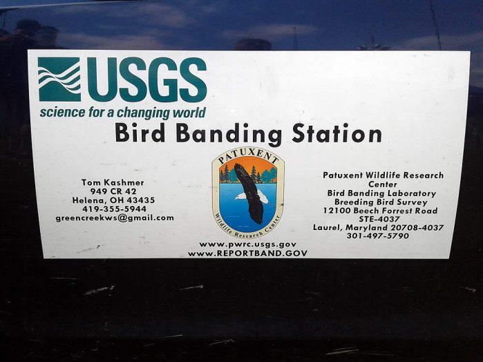 USGS Bird Banding System